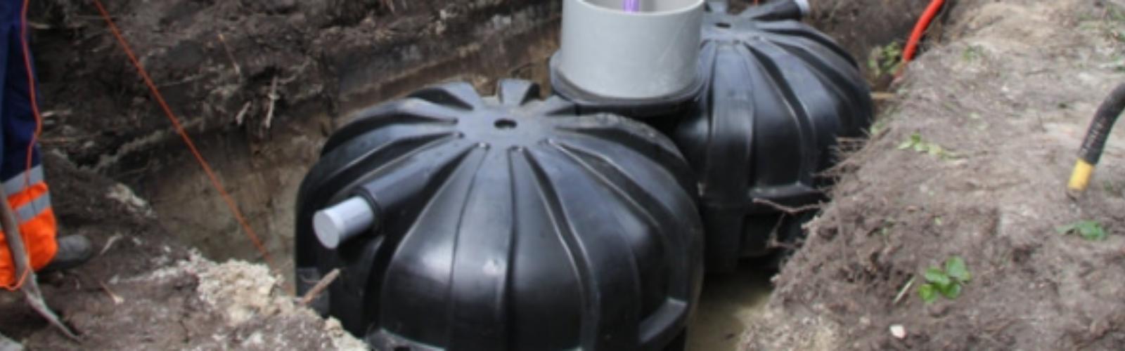 Individuele waterzuiveringsstations