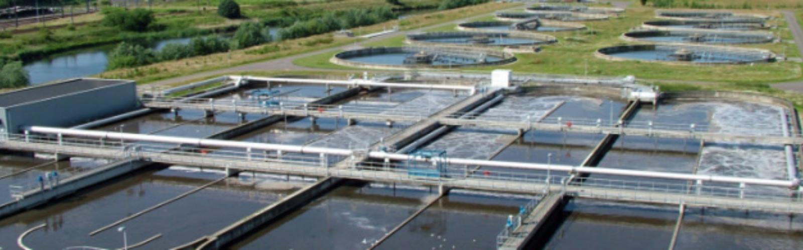 Waterzuiveringsstations en pompstations